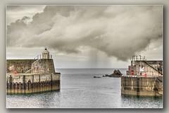 The Cloud # 2 (Bill McKenzie / bmphoto) Tags: findochty harbour entrance moray best cloud rain precipitation scotland scottishviewpoint scenic