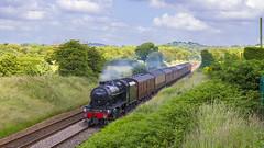 48151 on test (mike.online) Tags: lms 8f 48151 steam locomotive backline train railway rail londonmidlandscottish steamlocomotive mikeonline canon eos railroad transport