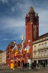 Basel city hall (Krzysztof D.) Tags: europe europa szwajcaria switzerland schweiz basel bazylea cpl ratusz cityhall architecture architektura shiftn rathaus