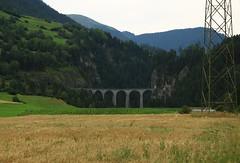 Landwasserviadukt (William Sc) Tags: bridge railway filisur landwasser viadukt rhb unesco weltkulturerbe albula