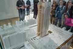Modellino Torre Intesa Sanpaolo (auxiele18) Tags: grattacielo torre intesa sanpaolo torino turin city building modellino plastico progetto renzo piano