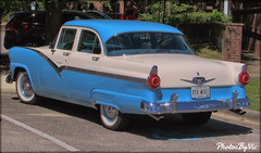 '56 Ford Fairlane (Photos By Vic) Tags: 1955 55 ford fairlane automobile antique vehicle vintage old classic car
