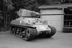 Sherman tank (Ronald_H) Tags: wingsofliberation bevrijdendevleugels military vehicle 2016 sherman tank wwii diafine