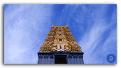 Simhachalam Hindu temple located in Visakhapatnam city suburb (KS Photography!) Tags: simhachalamtemple simha lion hill lordnarasimha manlion incarnation avatar lordvishnu shrine hindutemple temple city architecture kalingaarchitecture suburb simhachalam hindu hinduism worship ancient mountain bluesky clouds cloudscape nature peak outdoors uphill height beautyinnature travel abstract religion horizontal background colorful environment god holiness statue landmark spiritual religious heritage holy visakhapatnam vizag andhrapradesh india photography photogrpahy photoborder nikon tokina1116mmf28 tokina travelphotography natural hindugod southindia lowerangle lowangle whiteclouds kreative kreativeart kreatives