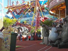 Welcome to the fair! (bryanilona) Tags: entrance funfair stourportonsevern worcestershire bears rides icecreampricelist