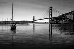 IMG_3888 (NinjaWeNinja) Tags: canon 6d 1634 wide angle black white blackandwhite sf san francisco sanfrancisco contrast fort baker fortbaker golden gate bridge goldengatebridge california high