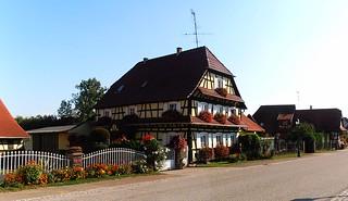 une vue sur nos maisons Alsaciennes !