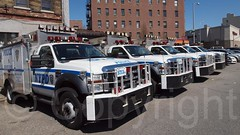 NYPD Emergency Service Vehicles, Police Precinct 90, Williamsburg, Brooklyn, New York City (jag9889) Tags: county city nyc newyorkcity blue usa house ny newyork building cars ess station architecture brooklyn flickr unitedstates unitedstatesofamerica police nypd company kings williamsburg service borough van emergency 90 department lawenforcement finest precinct firstresponder kingscounty policedepartment firstresponders 2013 newyorkcitypolicedepartment p090 ess8 precinct90 jag9889 y2013 20130406