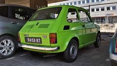 Fiat 126 Bambino 650 (sjoerd.wijsman) Tags: auto holland green cars netherlands car groen fiat nederland thenetherlands delft vert voiture vehicle holanda hatch autos paysbas olanda 126 hatchback fahrzeug niederlande zuidholland onk carspotting fiat126 carspot cwodlp sidecode3 08032015 94sx87