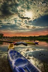 Atardecer parque del agua Zaragoza - Adrian Sediles (Sediles) Tags: sunset atardecer zaragoza nubes reflejo hdr zgz parquedelagua sediles adriansediles blogadriansedileses fotosediles