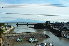 Boats From Train (Bracus Triticum) Tags: from autumn japan train landscape boats october 日本 nagasaki kyushu 九州 2014 10月 長崎県 十月 神無月 kannazuki かんなづき themonthwhentherearenogods 平成26年