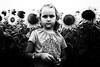 (Sakis Dazanis) Tags: portrait blackandwhite bw girl streetphotography sunflowers dazanis