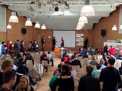 Barcamp Berlin 2015 8 (Blogging Dagger) Tags: camp berlin internet sunny web20 dagger sonnig mitte barcamp barcampberlin bcber