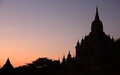 I colori del tramonto (@lea.be) Tags: travel sunset building colors architecture asia tramonto myanmar colori viaggi monumenti silouhette canoneos40d