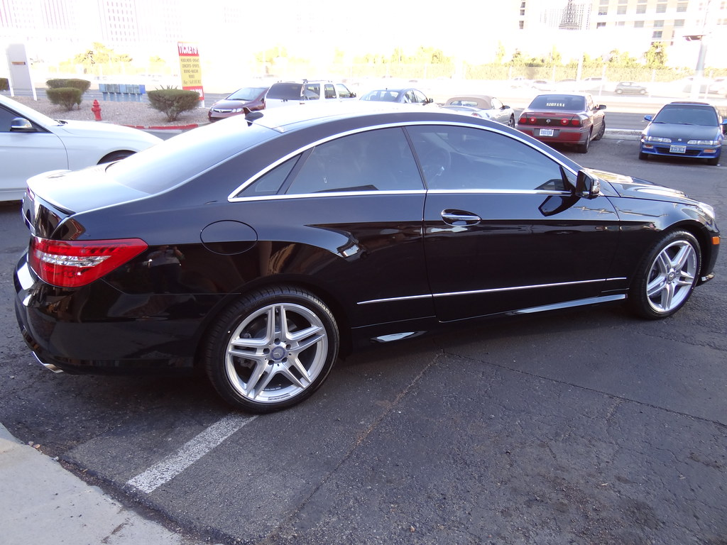 mercedes benz e350 window tint installation