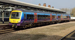 First TransPennine Express 170301 (dgh2222) Tags: station class tpe selby turbostar 1703 170301 ik12