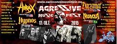 07/17 - 18/15 Agressive Music Fest 2015 @ Pohori, Nachod, Czech Republic (NYCDreamin) Tags: nervosa hypnos inpain hirax 071715 deadlabel 071815 mindthreat agressivemusicfest2015 nachodczechrepublic