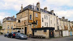 Bath, Somerset - UK (Mic V.) Tags: street uk england house building public architecture bar pub bath arms drink britain daniel united great kingdom somerset architect gb rue listed the pulteney