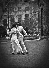 In Harmony (buddah1888) Tags: old 1920s blackandwhite ny newyork love america dancers time centralpark harmony april vignette rythm scentofawoman canon60d slowmoves silvereffexpro buddah18888