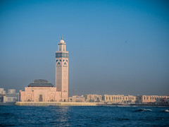 Casablanca-Hassan II Mosque (ustung) Tags: king mosque morocco magnificient hassanii casablanka