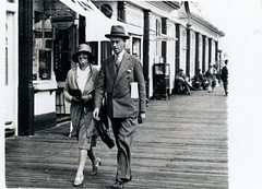 STREET PHOTOGRAPHER (JOHN MORGANs OLD PHOTOS.) Tags: street uk bw white black vintage walking found photo seaside interesting different photographer photos unknown and unusual