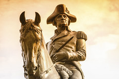 Boston '10 (R24KBerg Photos) Tags: travel tourism statue boston canon massachusetts mass georgewashington 2010 tobaccofilter