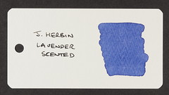 J. Herbin Lavender Scented - Word Card