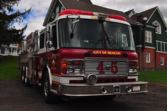 City of Beacon Fire Department Ladder 33-45 (Triborough) Tags: ny newyork tower alf firetruck fireengine ladder beacon bfd dutchesscounty americanlafrance lti towerladder cbfd ladder45 cityofbeaconfiredepartment ladder3345