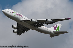 Boeing 747-412 MSN27178 EC-KSM Wamos Air (Goepfert Damien) Tags: paris france plane airport damien boeing avion aéroport ory 747412 goepfert ecksm damiengoepfert msn27178 wamosair