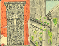Appunti di viaggio 50 (Federico Festival) Tags: travels monastery caucasus armenia հանրապետություն հայաստանի հաղպատ սանահին