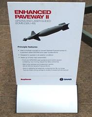 Raytheon GBU-49 Enhanced Paveway II  Dual-Mode GPS And Laser Guided 500 lb Bomb (Columbiantony-Leeds-W/Yorks-UK) Tags: riat2016 riat riatairshows riatairshow england uk ukairshows aircraft display displays airshows columbiantony raffairford raffairford2016 royalairforcedisplays gbu49 paveway ii gpsins laserguidedbomb info royalinternationalairtattoo royalinternationalairtattoo2016 gloucestershire theroyalairforce royalairforce raf ukairshow raytheon airtattoo riat16 fairford airfield