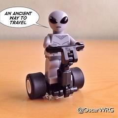 #LEGO #ClassicAlien #Alien #Segway #LEGOsegway #SegwayPT #LEGOsegwayPT @SegwayInc @lego_group @lego (@OscarWRG) Tags: lego alien segway segwaypt classicalien legosegway legosegwaypt