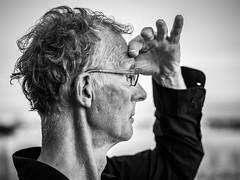 Portrait homme (totofffff) Tags: street 2 white black france film festival alpes french riviera noir cannes 10 d mark olympus ii e om blanc maritimes croisette mditerrane