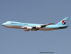 Korean Air Cargo. Boeing 747-800. (Jacques PANAS) Tags: korean air cargo boeing 7478htfscd hl7610 msn371331426