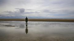 Crosby Panorama (JodBart) Tags: crosby beach sand view sky antonygormley anotherplace