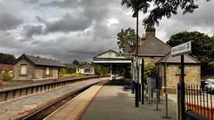 Bere Alston station (camera phone shot) (Hoovering_crompton) Tags: berealston junction gunnislake branch srmainline plymouth tamar valley
