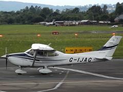G-IJAG Cessna 182 (Aircaft @ Gloucestershire Airport By James) Tags: gloucestershire airport gijag cessna 182 egbj james lloyds
