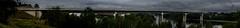 Hammarsundsbron (ronax14) Tags: bridge summer panorama water june juni architecture europa europe sweden sommer schweden sverige bro brücke sommar vättern hammar askersund svealand rastplats närke hammarsundet hammarsundsbron