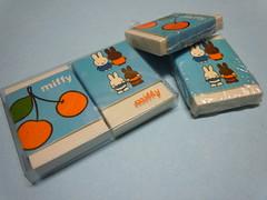 Miffy little Rabbit - Dick Bruna - Couple of Erasers (My Sweet 80s) Tags: miffy coniglietto coniglio rabbit coniglietta dickbruna nijntjepleintje nijntje marcbruna holland olanda eraser erasers collectingerasers vintageerasers gommine gomme gommedacollezione anni80gommine 80serasers