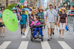 EM-160710-DisabilityPrideNYC-006 (Minister Erik McGregor) Tags: nyc newyork art festival photography march parade awareness visibility inclusion 2016 disabilitypride erikrivashotmailcom erikmcgregor 9172258963 erikmcgregor disabilitypridenyc disabilityparade