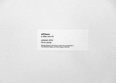 Tag at Whitney Museum in NYC (Clara Ungaretti) Tags: nyc newyorkcity inspiration ny newyork art museum graphicdesign artist arte graphic manhattan tag id informations northamerica states traveling typo information whitneymuseum etiqueta novayork