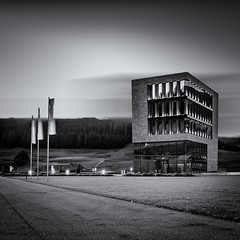 Landscape Architecture (Radek Lokos Fotografie) Tags: longexposure canon eos reisen outdoor architektur monochrom freiburg landschaft schwarzwald 6d titisee radeklokosfotografie