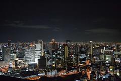 Great view from sky building (Osaka - ) (Doncardona) Tags: trip travel sky building skyline nikon asia adventure journey osaka umeda asiatrip 3100 nikon3100  worldtraveler jpworldtraveler