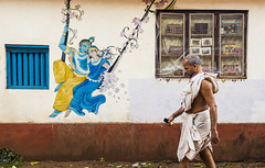 Radhe Krishna (Well-Bred Kannan (WBK Photography)) Tags: travel india streets travelling painting nikon indian d750 priest gokarna tradition krishna karnataka hindu hinduism sadhu udupi kannan traveler radhekrishna wellbred brahmin wbk weekendwalk travelphotography incredibleindia wbkphotography kannanmuthuraman nikond750 streetsofgokarna