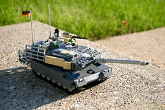 Leopard 2A6M CAN+ (ABS Defence Systems) Tags: lego vehicle military leopard 2a6 tank outdoors vibrant