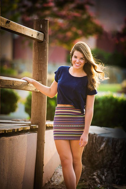 Senior Portrait in the Paseo Arts District in Oklahoma City