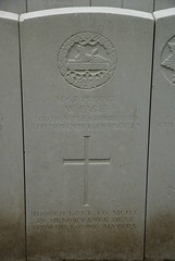 W. Page, South Wales Borderers, 1914, War Grave, Poperinghe (PaulHP) Tags: cwgc ww1 world war 1 first great belgium grave marker headstone military cemetery st johns cheltenham glos newport w william page private serviec number 8067 5th november 1914 south wales borderers 1st bn battalion poperinghe old jeremiah catherine