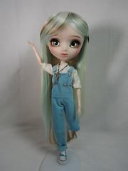 Hello!!! (sh0pi) Tags: make fashion doll skin ooak fair it wig mio pullip own puppe leekeworld mikiyochii