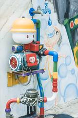 (David C W Wang) Tags: color painted taiwan pump    changhua lukang     sel2470z sonya7ii