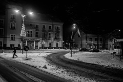 Jaworzno (nightmareck) Tags: jaworzno lskie polska poland europa europe winter zima fotografianocna night handheld fujifilm fuji xe1 apsc xtrans xmount mirrorless bezlusterkowiec xf18mm xf18mmf20r fujinon pancakelens